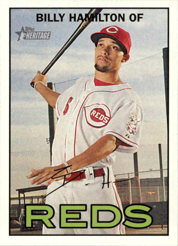 Photo of 2016 Topps Heritage #120A Billy Hamilton