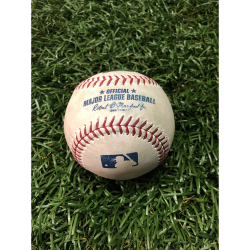 Photo of Player Collected Baseball: Marwin Gonzalez HOME RUN off Yonny Chirinos - June 1, 2019 v MIN