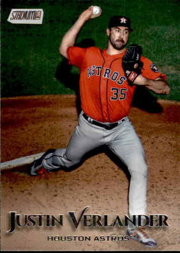 Photo of 2019 Stadium Club #67 Justin Verlander