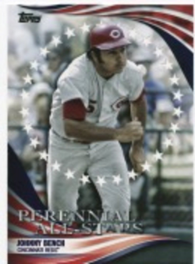 2019 Topps Update Perennial All Stars #PAS13 Johnny Bench