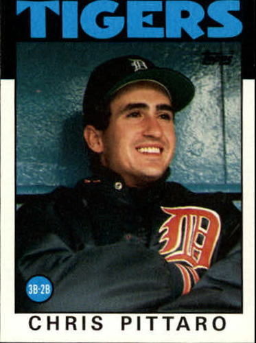 Photo of 1986 Topps #393 Chris Pittaro