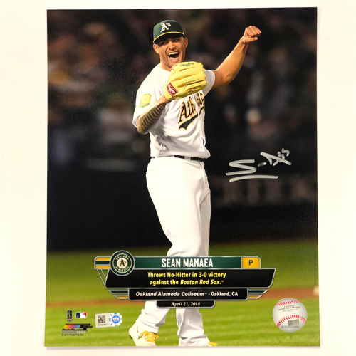 "Photo of Sean Manaea Autographed 8""x10"" Photo"