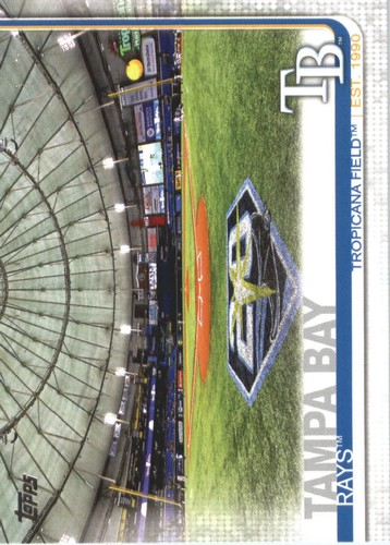 Photo of 2019 Topps #566 Tropicana Field