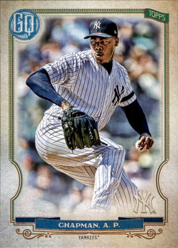 Photo of 2020 Topps Gypsy Queen #213 Aroldis Chapman