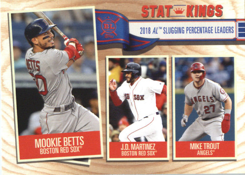 Photo of 2019 Topps Big League #361 Mike Trout/J.D. Martinez/Mookie Betts