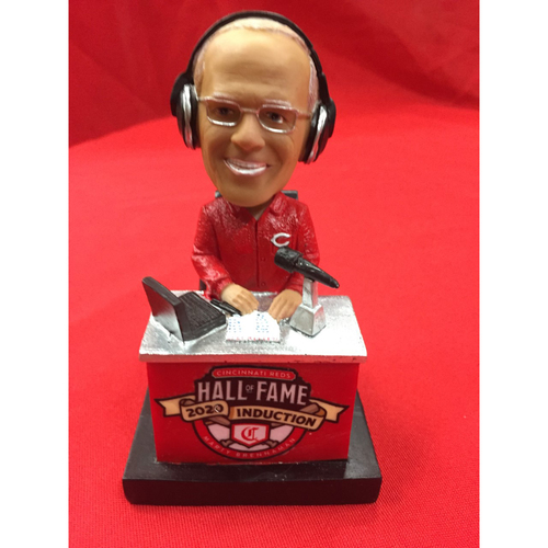 Photo of Hall of Fame 2020 Marty Brennaman AUTOGRAPHED Bobblehead - Exclusive Collection of 100 - Bobblehead NUMBER 75