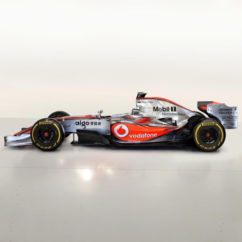 Official 2006 McLaren Mp4-21 Show Car - Lewis Hamilton 2008 World Championship Winning Livery