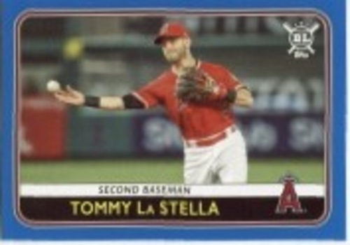 Photo of 2020 Topps Big League Blue #12 Tommy La Stella