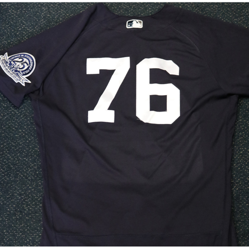 Photo of 2020 Game-Used Spring Training Jersey - Kyle Holder #76 - Size 44