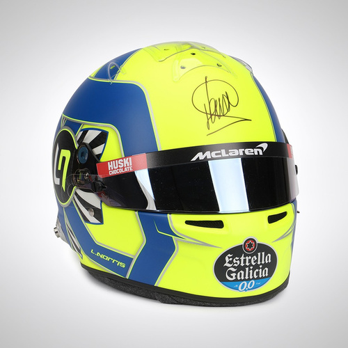 Photo of Lando Norris 2020  Signed 1:1 Official Replica Helmet