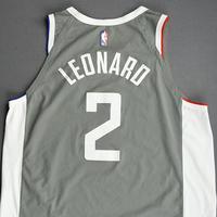 Kawhi Leonard - Los Angeles Clippers - Game-Worn - Earned Edition Jersey - Scored 20 Points - 2020-21 NBA Season