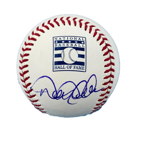Photo of Derek Jeter Autographed HOF Logo Baseball