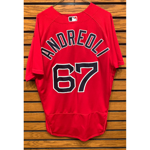 Photo of John Andreoli Team Issued 2020 spring Training Jersey