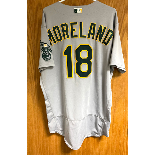 Photo of Game-Used Jersey - Mitch Moreland (Authenticated for 3 games, HR #5 & 10)