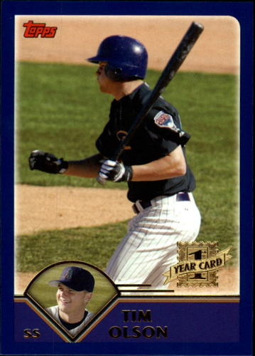 Photo of 2003 Topps Traded #T217 Tim Olson FY RC