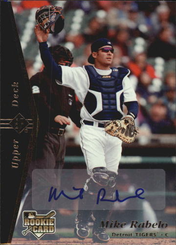 Photo of 2007 SP Rookie Edition Autographs #173 Mike Rabelo 95
