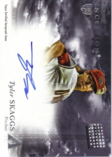 Photo of 2013 Bowman Inception Rookie Autographs #TS Tyler Skaggs