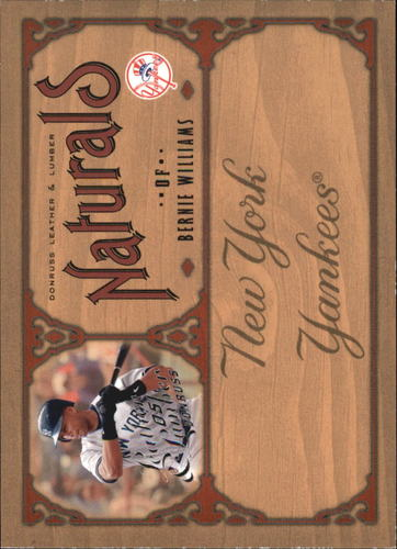 Photo of 2005 Leather and Lumber Naturals #2 Bernie Williams