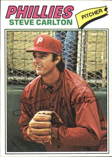 Photo of 1977 Topps #110 Steve Carlton