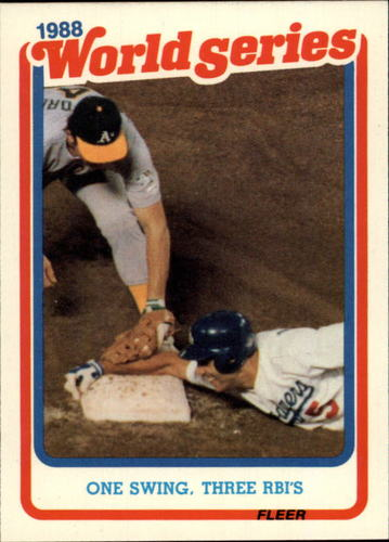 Photo of 1989 Fleer Glossy #WS7 Mike Marshall