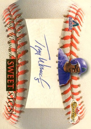 Photo of 2000 Fleer Showcase Sweet Sigs #SS8 Tony Womack
