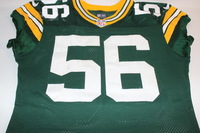 STS - PACKERS JULIUS PEPPERS GAME WORN PACKERS JERSEY (NOVEMBER 6, 2016)