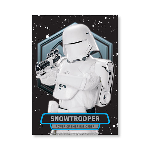 Snowtrooper TFA Series 2 POWER OF THE FIRST ORDER Poster - # to 99