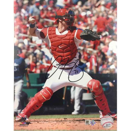 Cardinals Authentics: Carson Kelly Autographed Photo