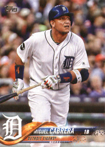 Photo of 2018 Topps #90 Miguel Cabrera