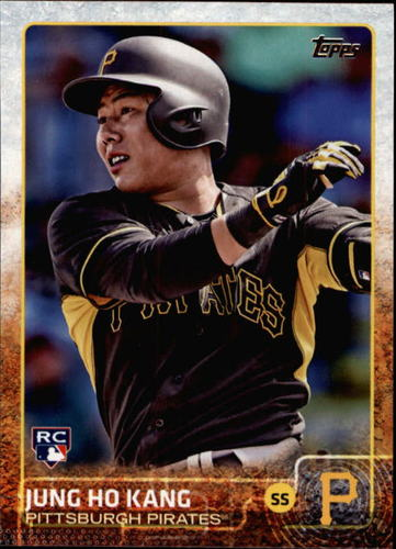 Photo of 2015 Topps #418 Jung Ho Kang RC