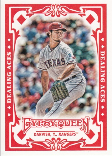 Photo of 2013 Topps Gypsy Queen Dealing Aces #YD Yu Darvish
