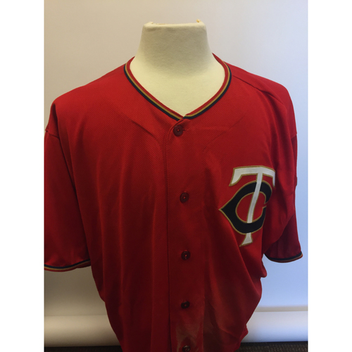 Photo of Minnesota Twins - 2019 Game Used Jersey - Miguel Sano hit Twins 100th HR of 2019