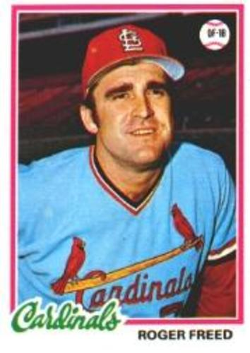Photo of 1978 Topps #504 Roger Freed