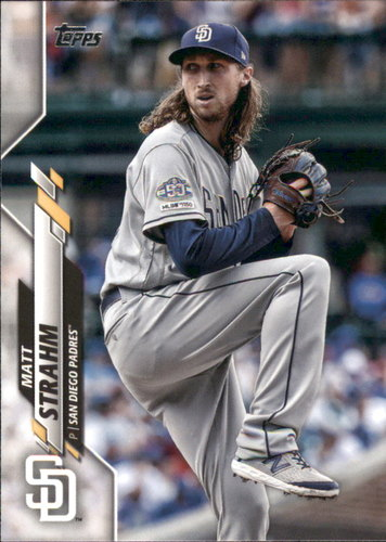 Photo of 2020 Topps #164 Matt Strahm