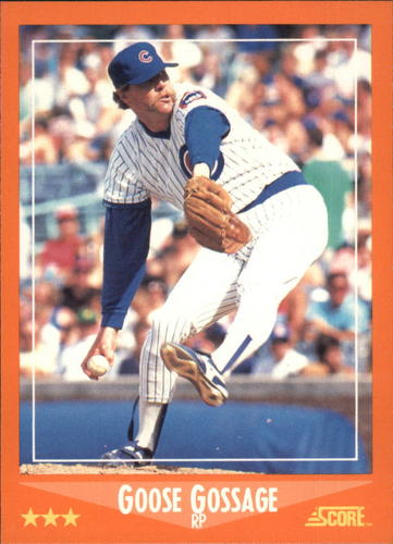 Photo of 1988 Score Rookie/Traded #14T Goose Gossage