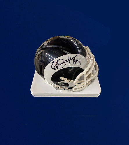 Photo of HOF-Eric Dickerson Signed Mini Helmet