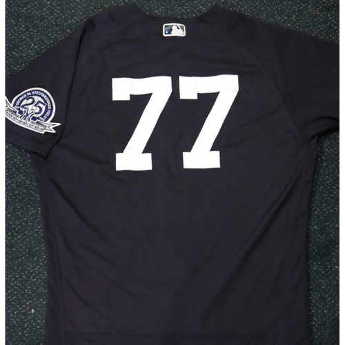 Photo of 2020 Game-Used Spring Training Jersey - Clint Frazier #77 - Size 44