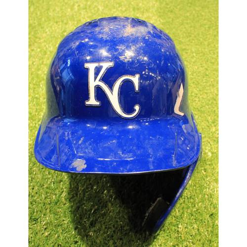 Photo of Game-Used Helmet: Whit Merrifield #15 (DET @ KC 9/26/20)
