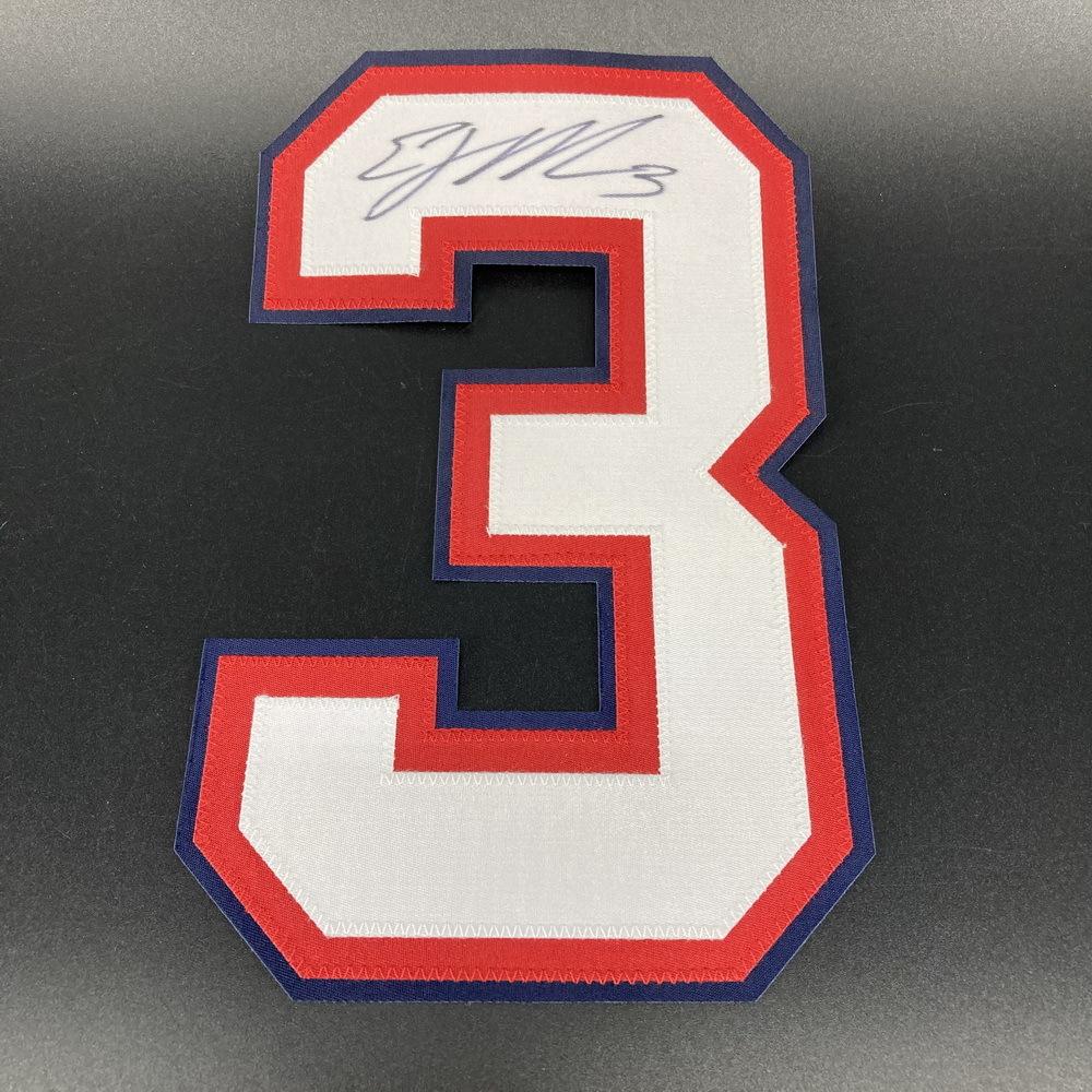 Bills - EJ Manuel Signed Jersey Number