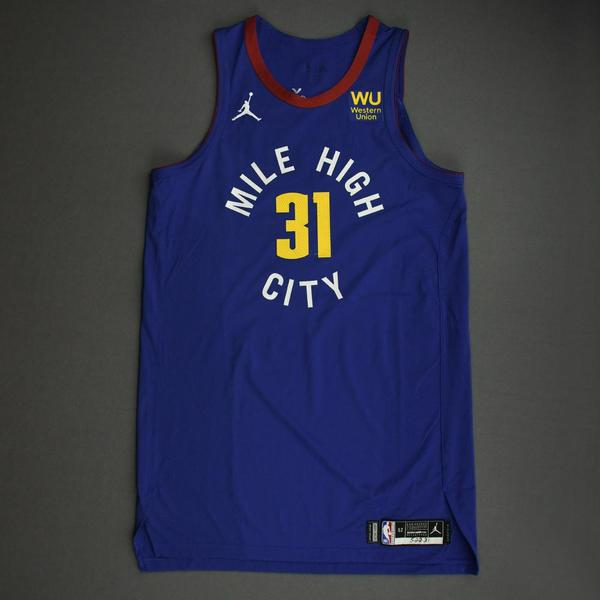 Image of Vlatko Cancar - Denver Nuggets - Game-Worn Statement Edition Jersey - Dressed, Did Not Play (DNP) - 2021 NBA Playoffs