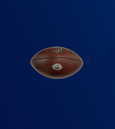 """Photo of Authentic """"The Duke"""" Game used football (9/26/2021 VS. Tampa Bay Bucs)"""