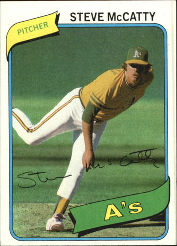 Photo of 1980 Topps #231 Steve McCatty