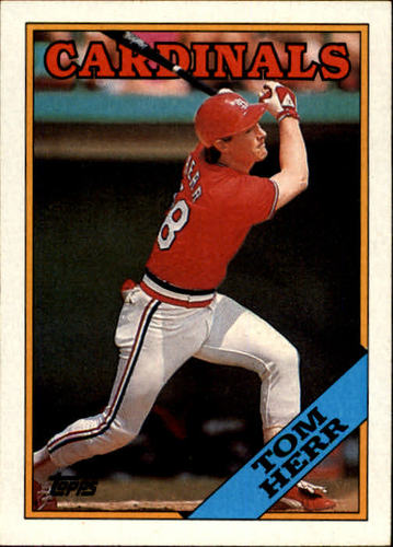 Photo of 1988 Topps #310 Tom Herr
