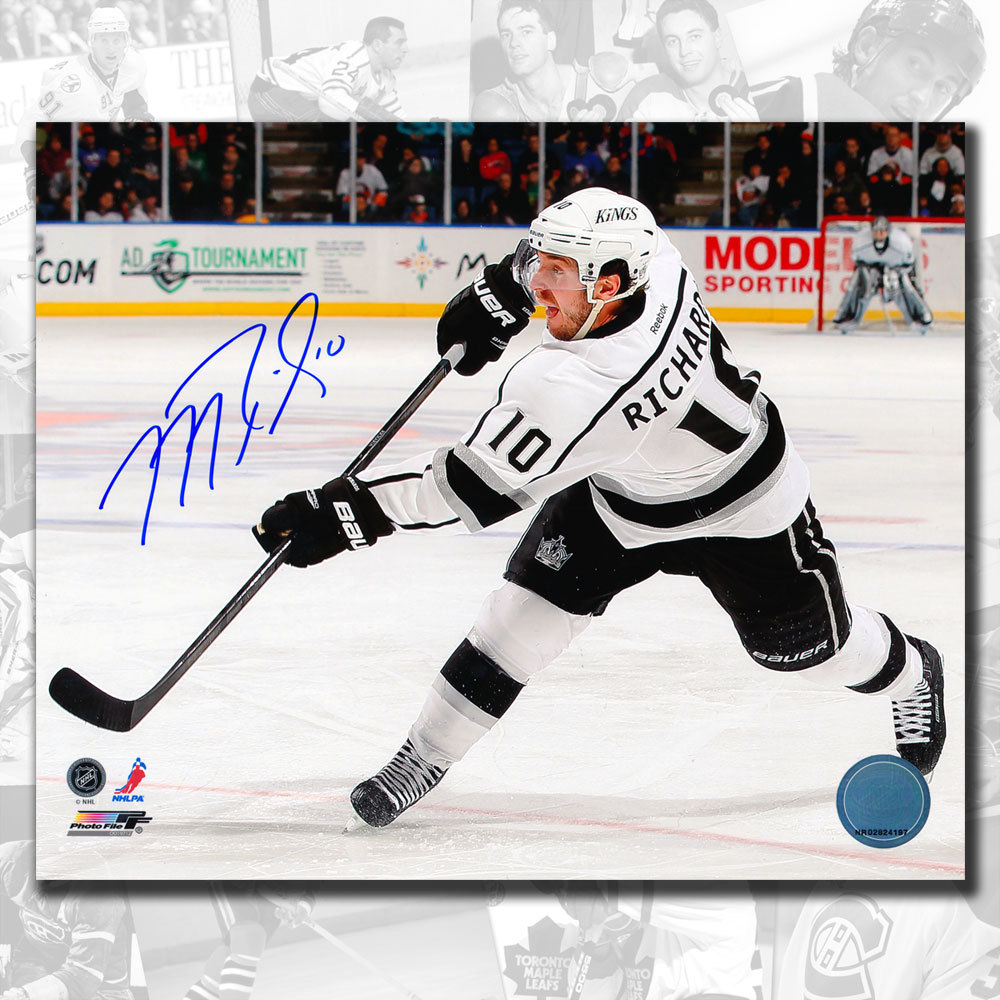 Mike Richards Los Angeles Kings Autographed 8x10