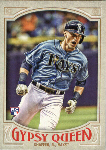Photo of 2016 Topps Gypsy Queen #108 Richie Shaffer RC
