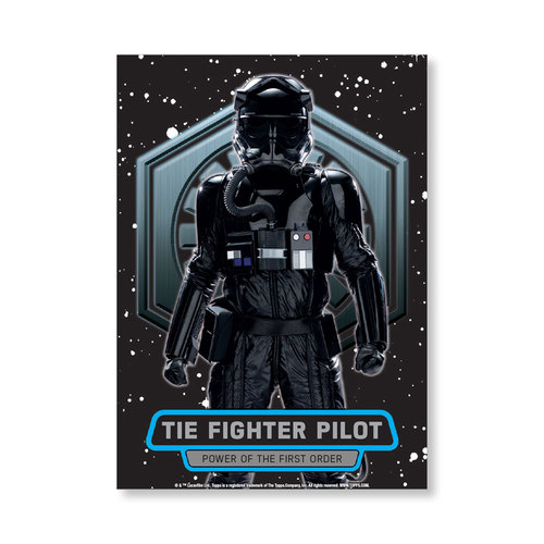 TIE Fighter Pilot TFA Series 2 POWER OF THE FIRST ORDER Poster - # to 99
