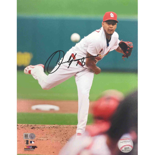 Photo of Cardinals Authentics: Carlos Martinez Autographed Photo