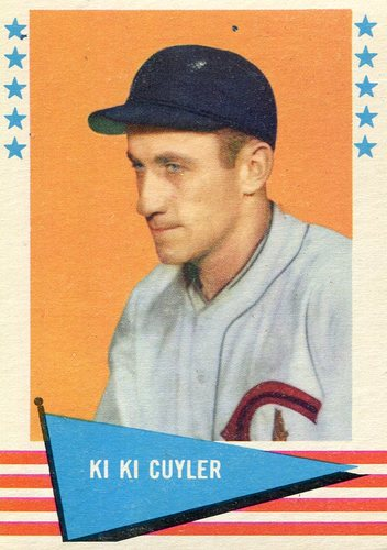 Photo of 1961 Fleer #19 Kiki Cuyler Hall of Fame Class of 1968