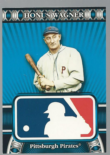 Photo of 2010 Topps Logoman HTA #38 Honus Wagner