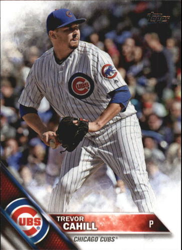 Photo of 2016 Topps Update #US154 Trevor Cahill
